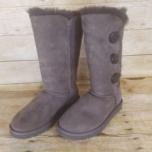 Ugg Bailey Button Triplet II Tall Boots